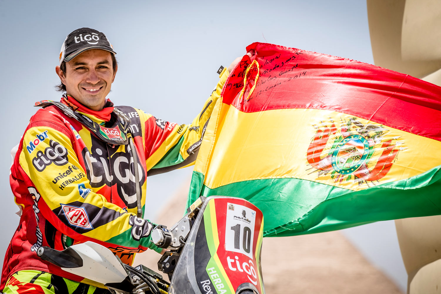 2 lugar - Rally de los Faraones 2015 / Campeonato Mundial de Rally Cross Country